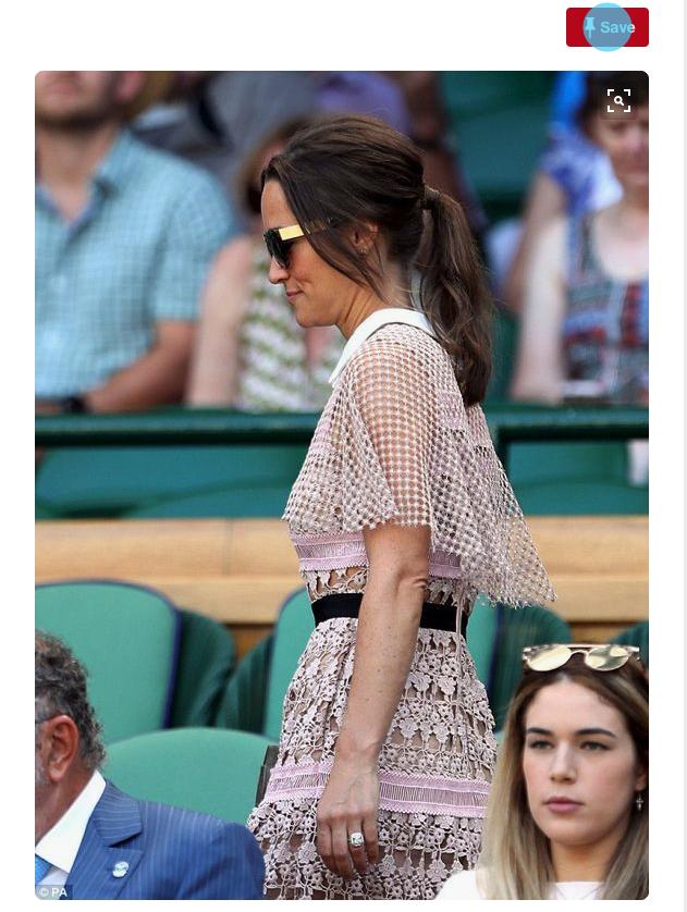 trending at wimbledon pippa's dress